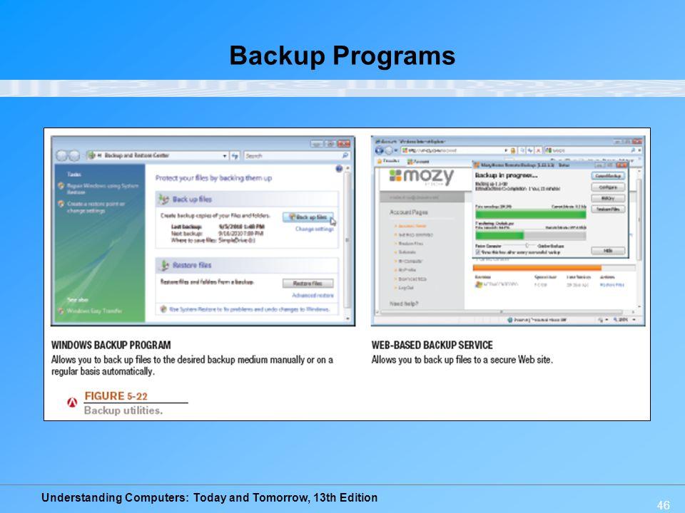 Backup Programs