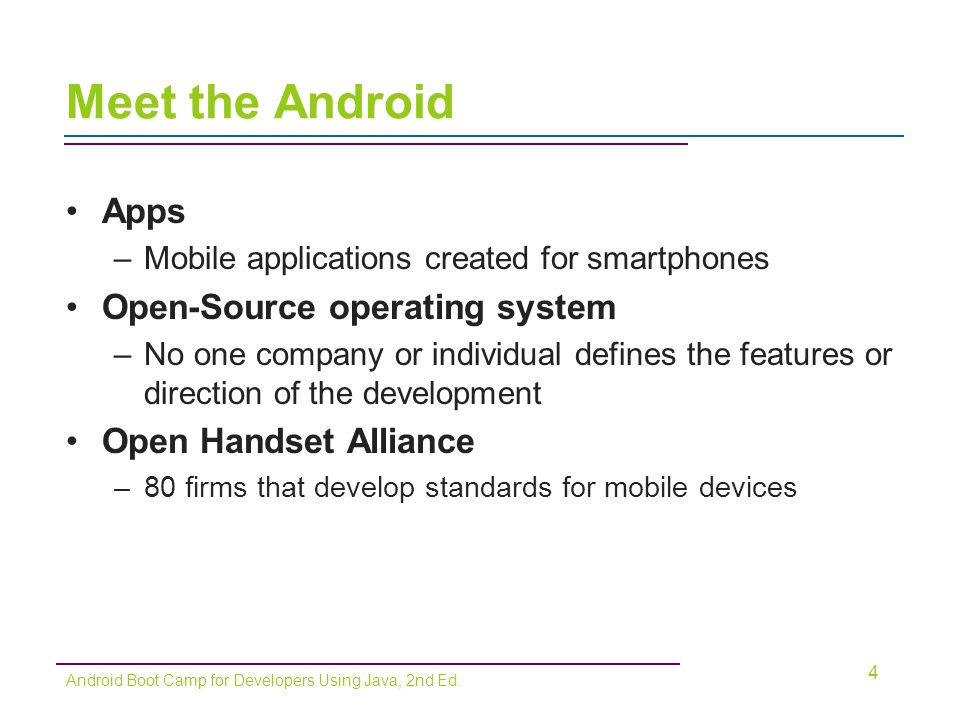 Meet the Android Apps Open-Source operating system
