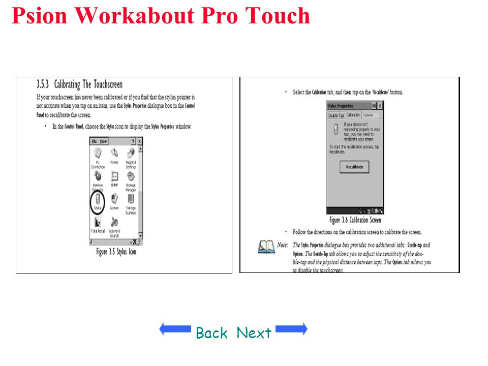 Psion Workabout Pro Touch