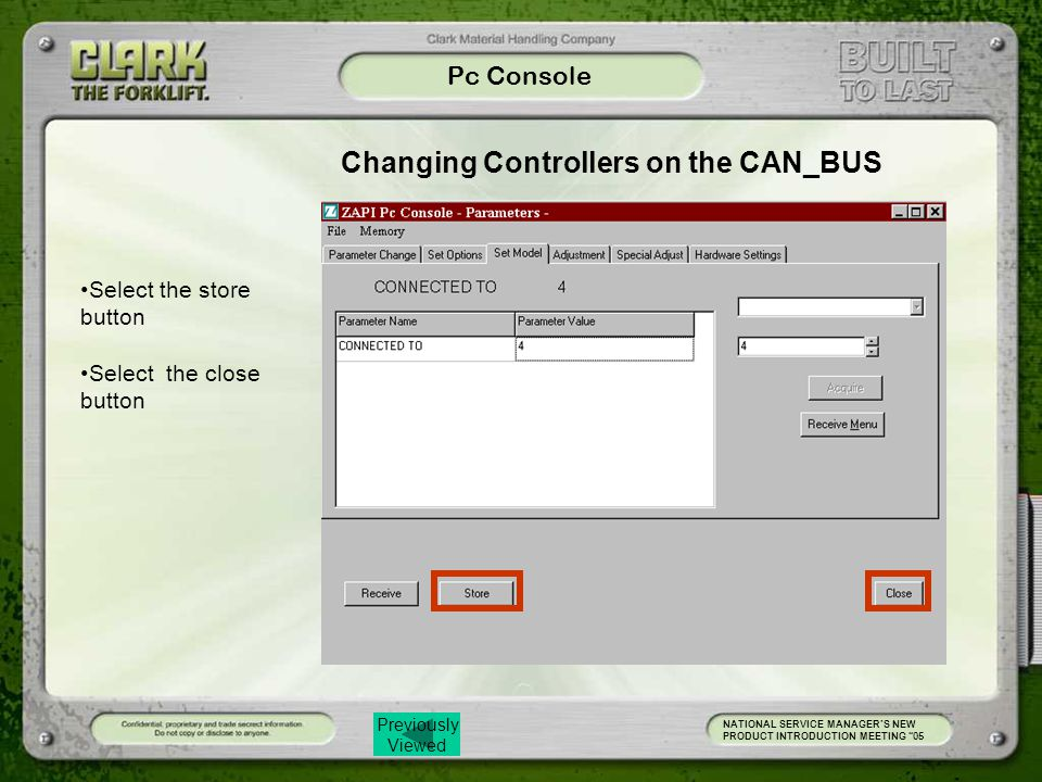 Changing Controllers on the CAN_BUS
