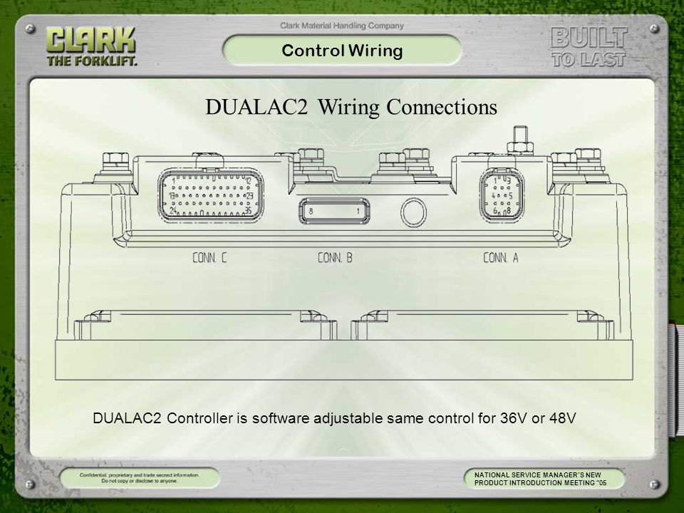 DUALAC2 Wiring Connections
