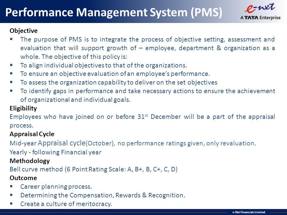Performance Management System (PMS)