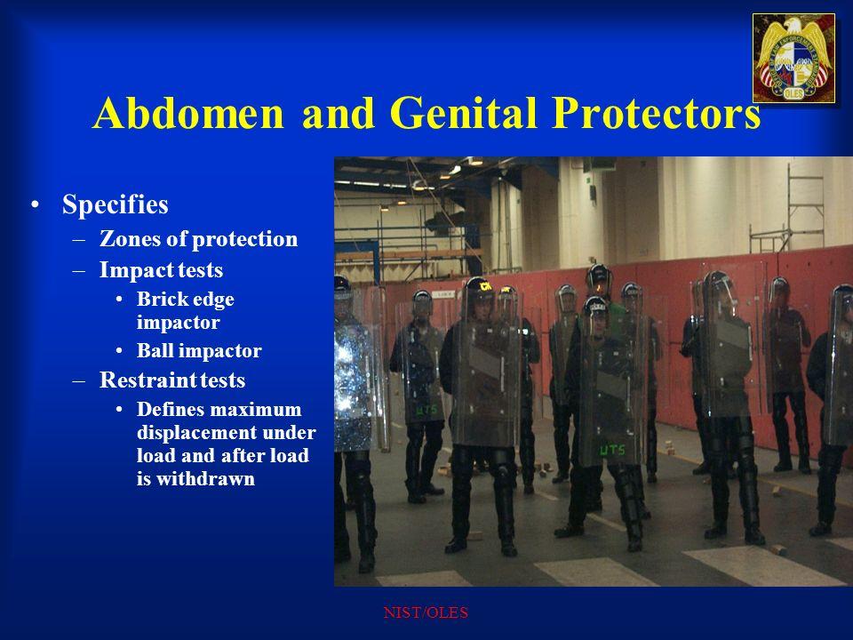 Abdomen and Genital Protectors