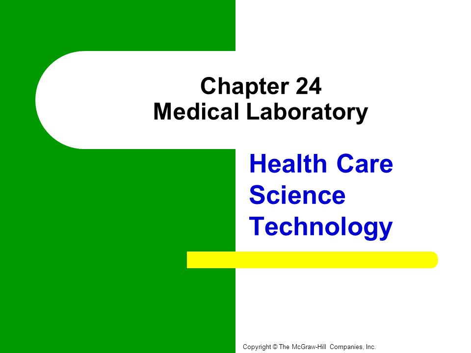 Chapter 24 Medical Laboratory