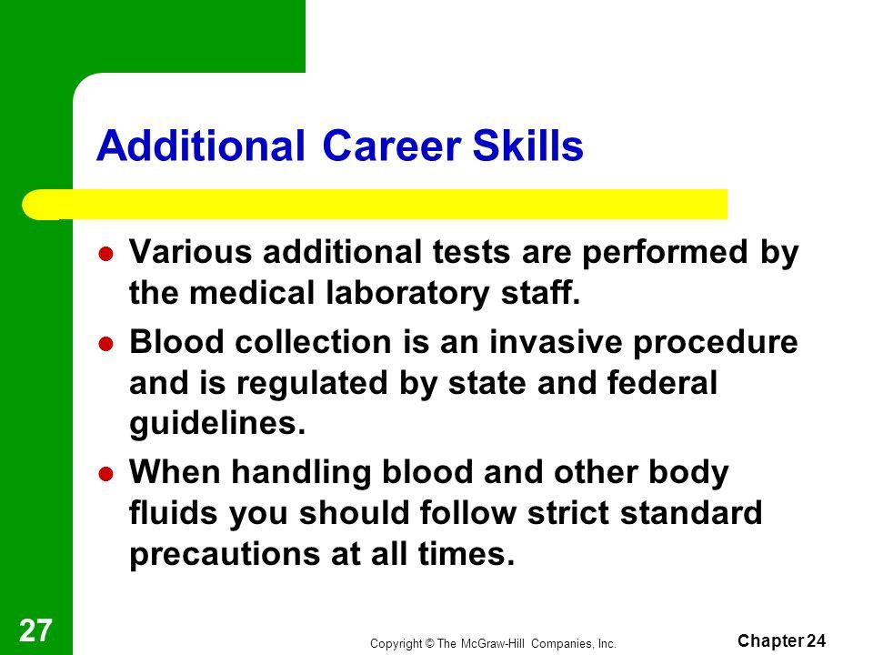 Additional Career Skills