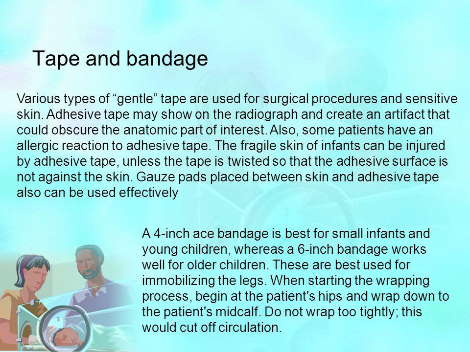 Tape and bandage