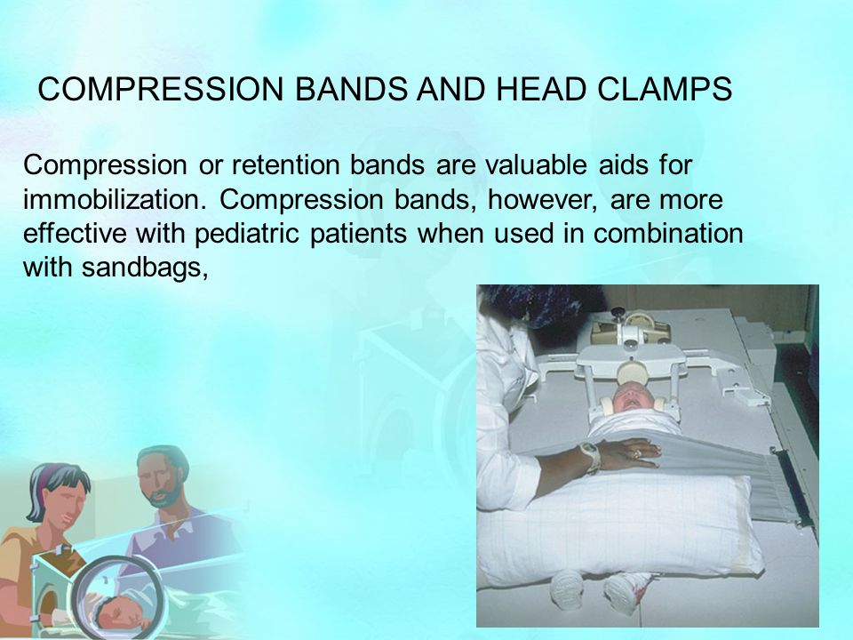 COMPRESSION BANDS AND HEAD CLAMPS