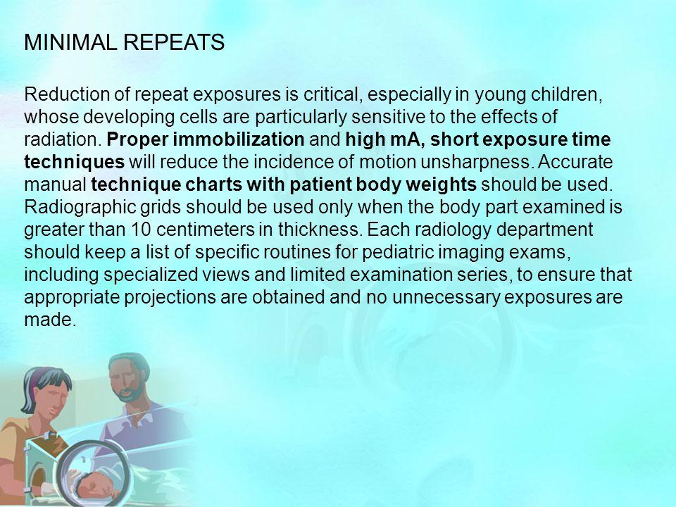 MINIMAL REPEATS