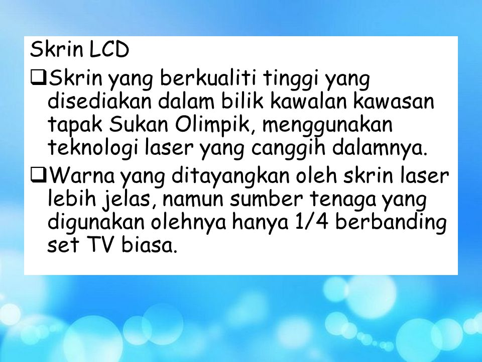 Skrin LCD