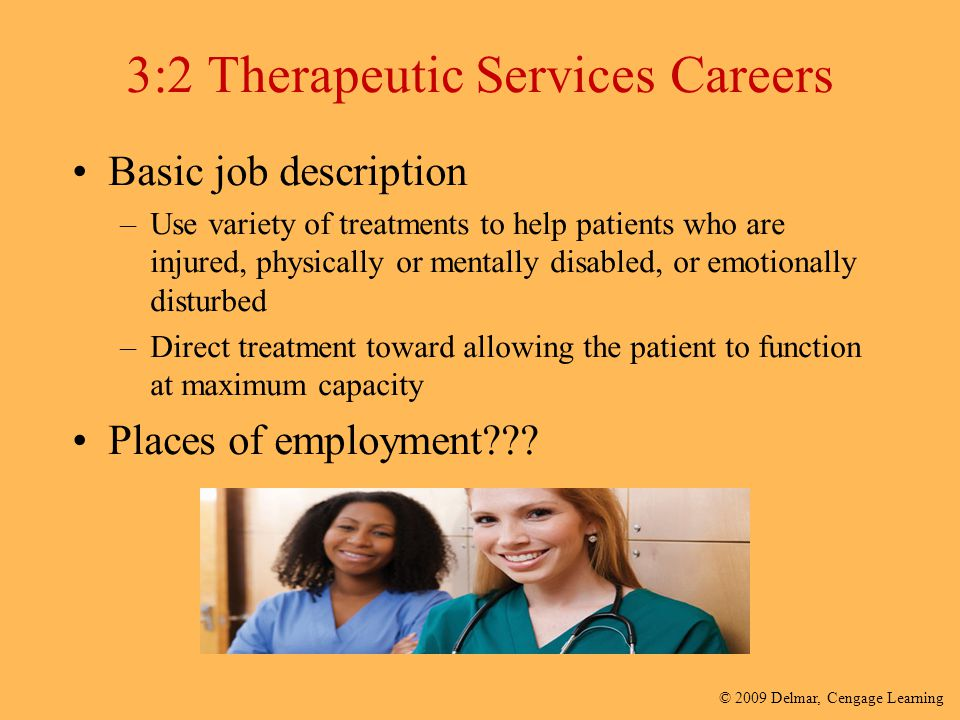 3:2 Therapeutic Services Careers