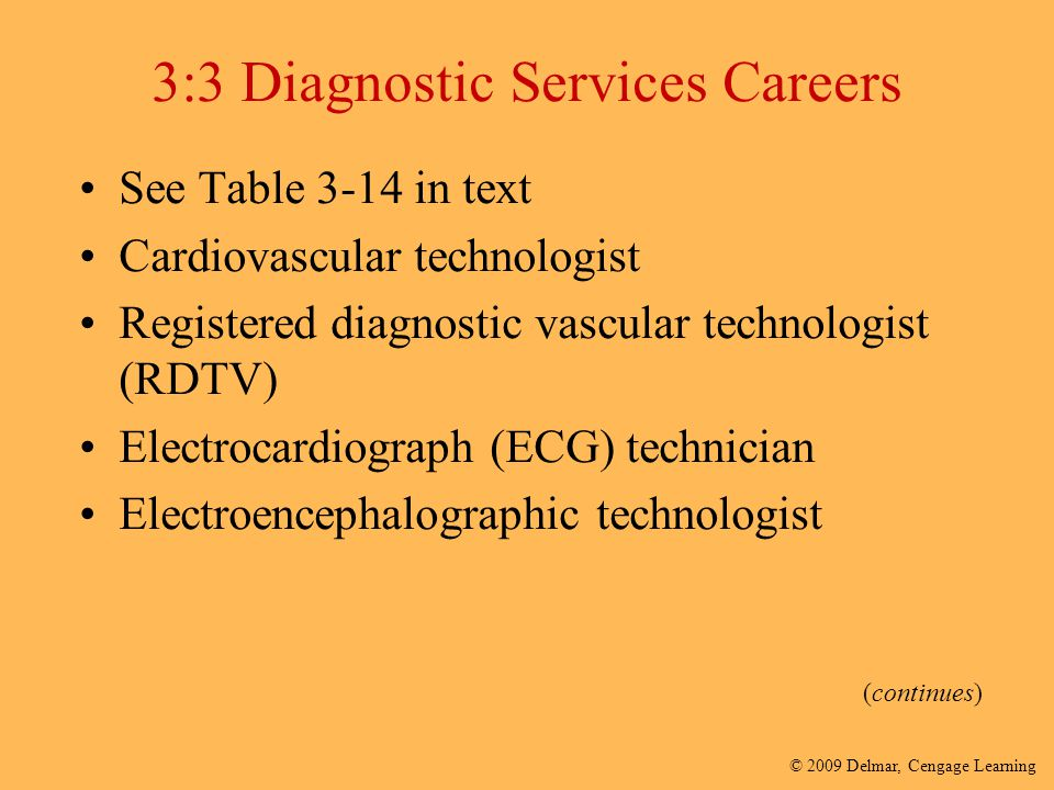 3:3 Diagnostic Services Careers