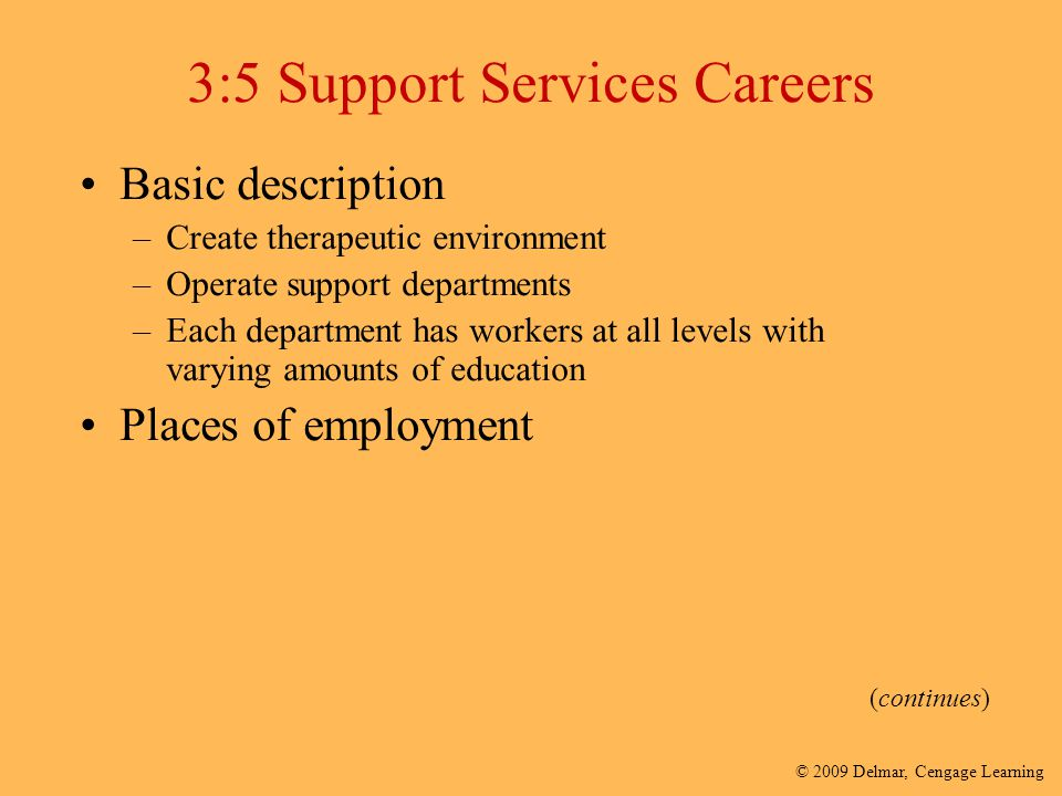 3:5 Support Services Careers