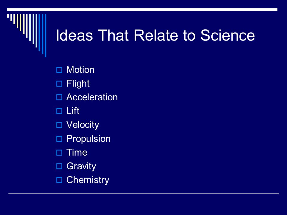 Ideas That Relate to Science