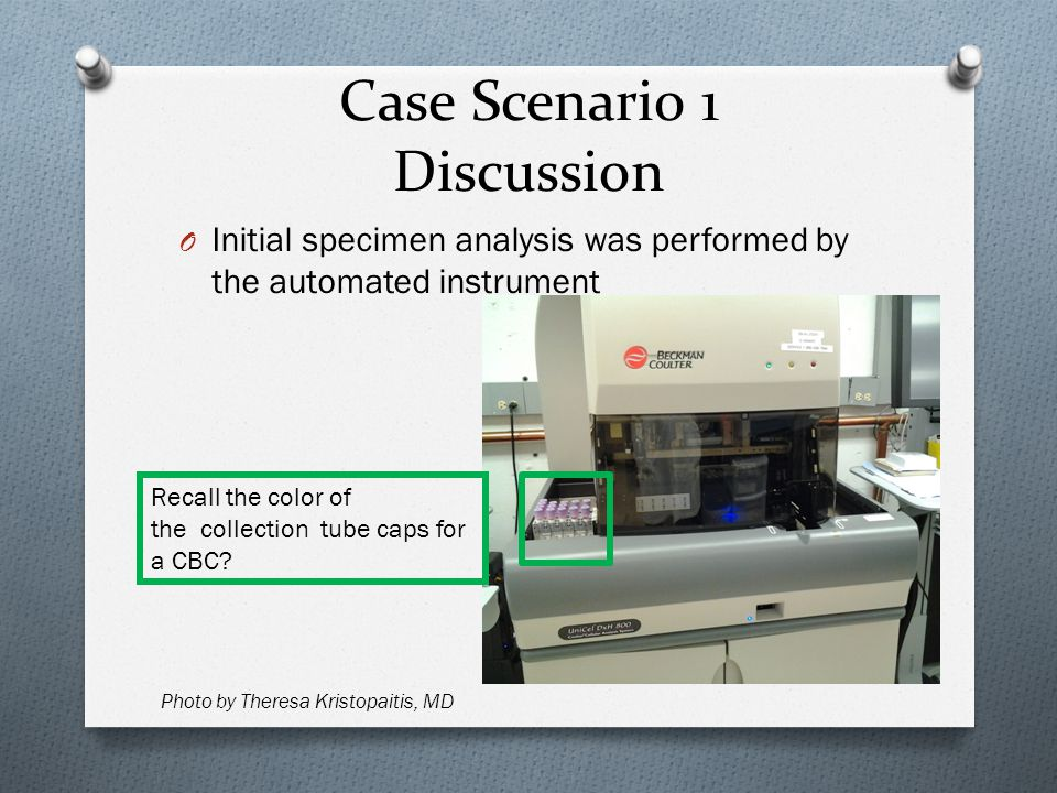 Case Scenario 1 Discussion