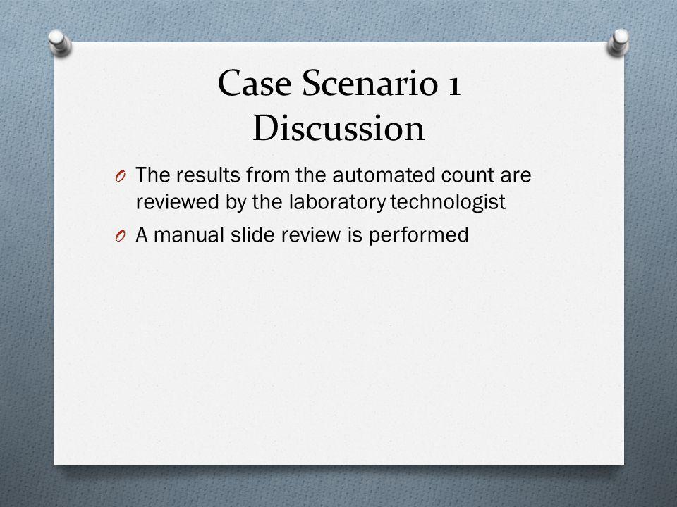 Case Scenario 1 Discussion