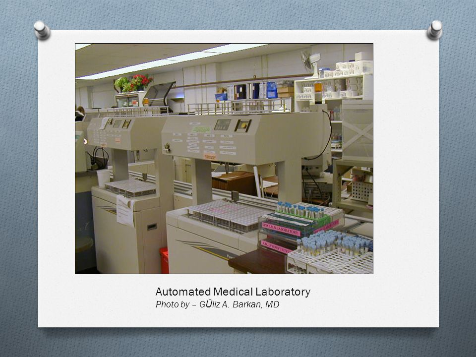 Automated Medical Laboratory