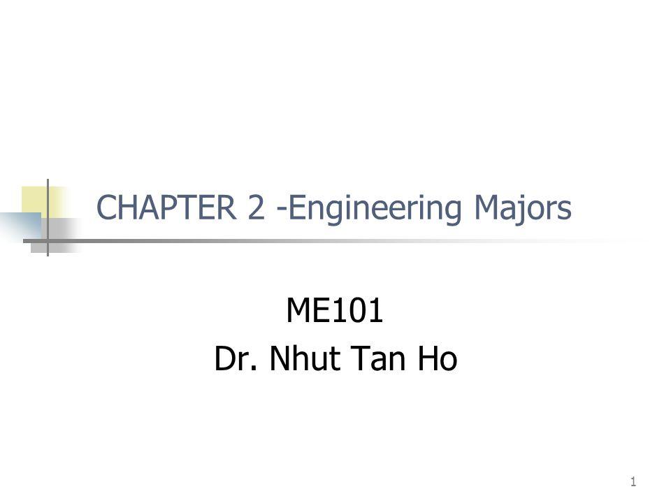 CHAPTER 2 -Engineering Majors