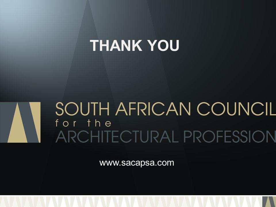 THANK YOU www.sacapsa.com