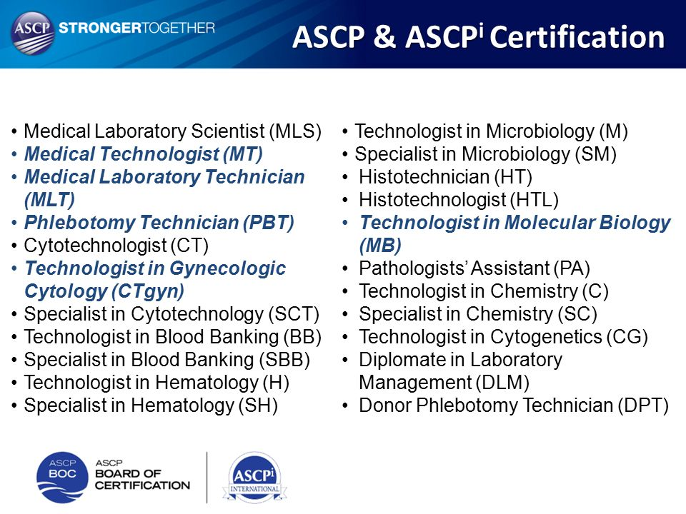 Medical Lab Scientist Mls Ascp Certification Oukasfo