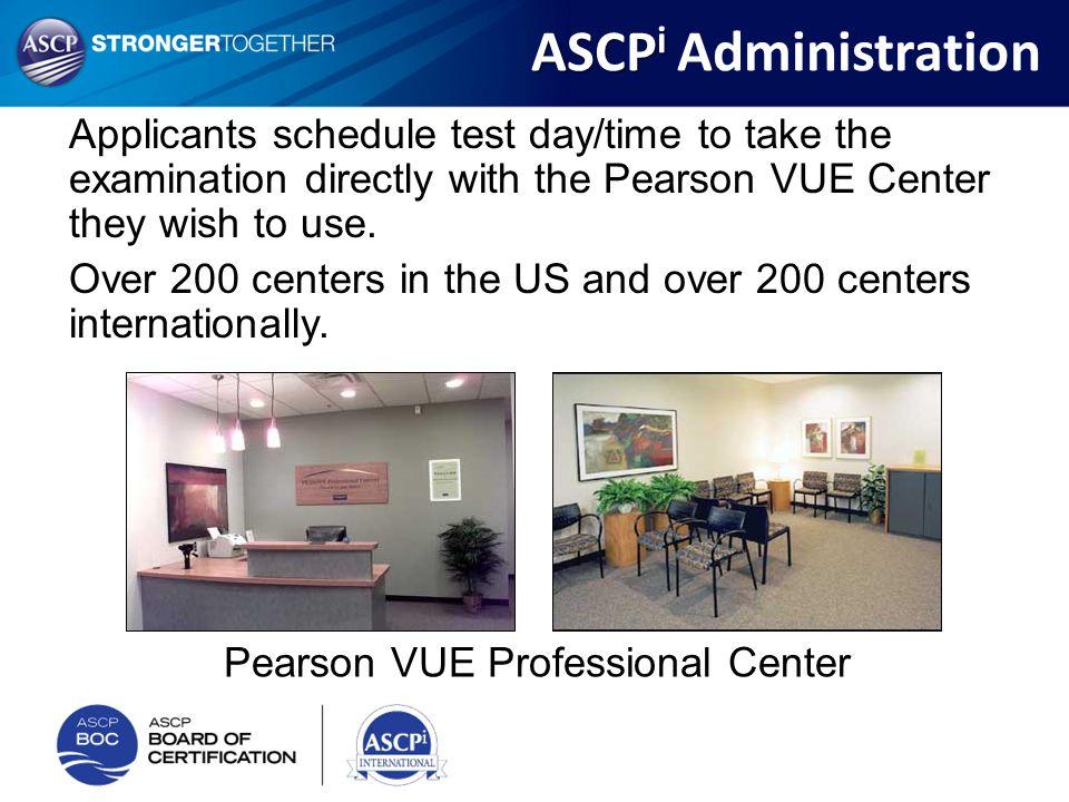 Pearson VUE Professional Center