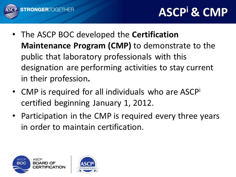 ASCPi & CMP