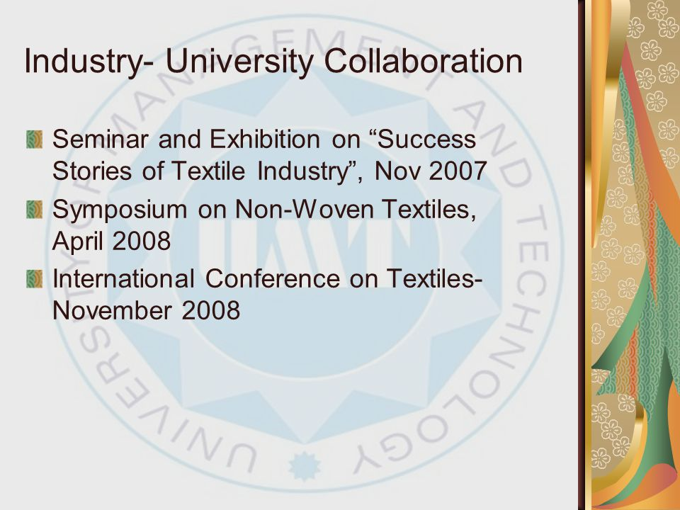 Industry- University Collaboration