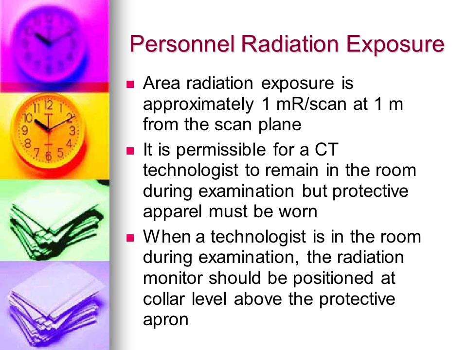 Personnel Radiation Exposure