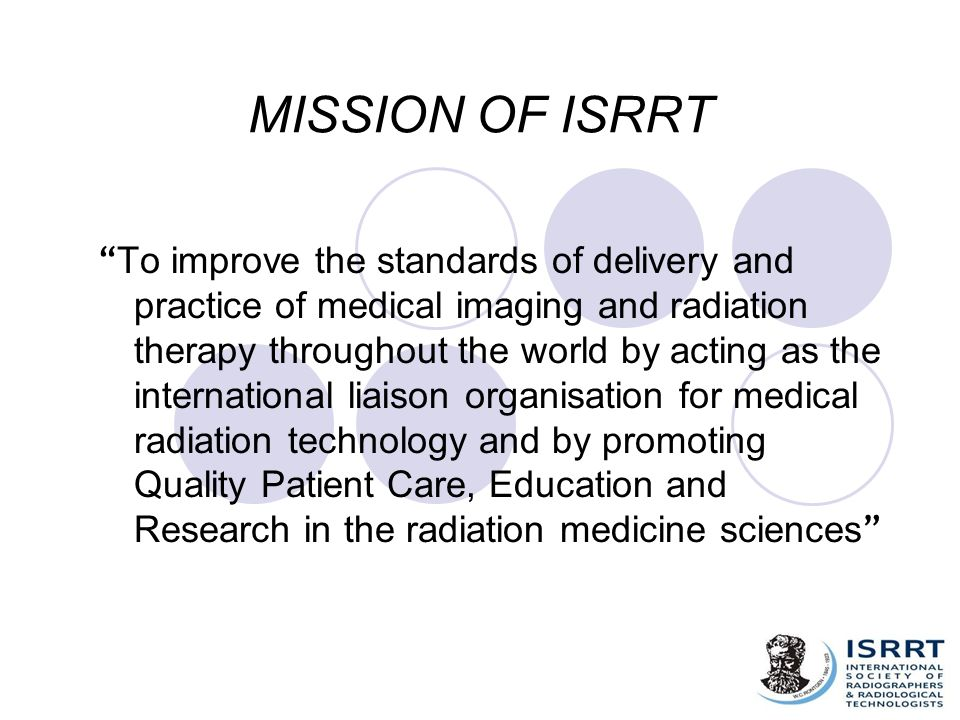 MISSION OF ISRRT