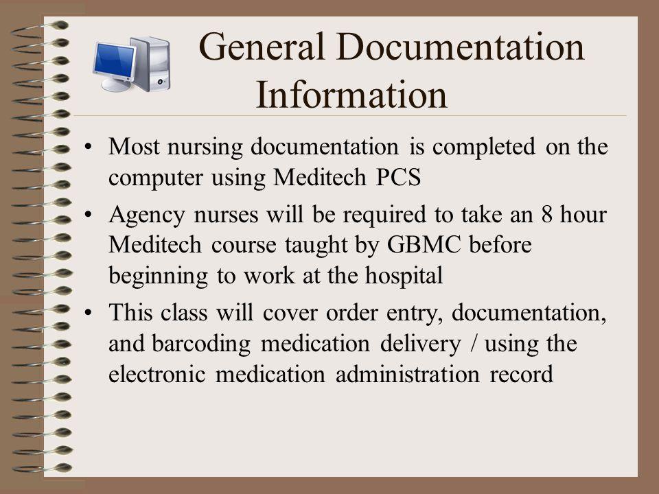 General Documentation Information