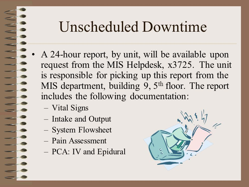 Unscheduled Downtime