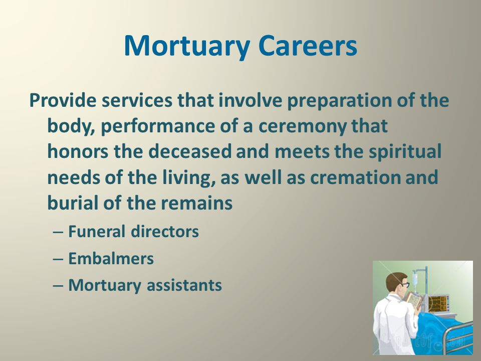 Mortuary Careers