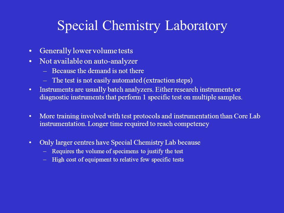 Special Chemistry Laboratory