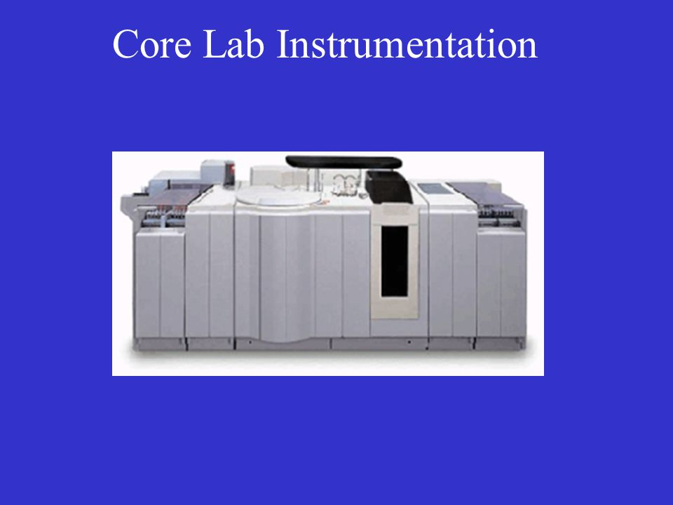 Core Lab Instrumentation