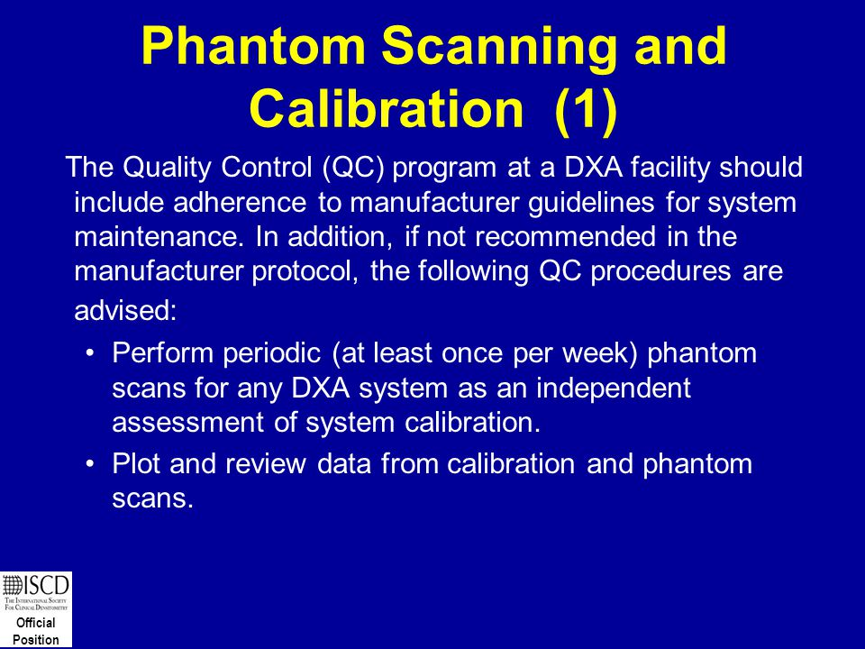 Phantom Scanning and Calibration (1)