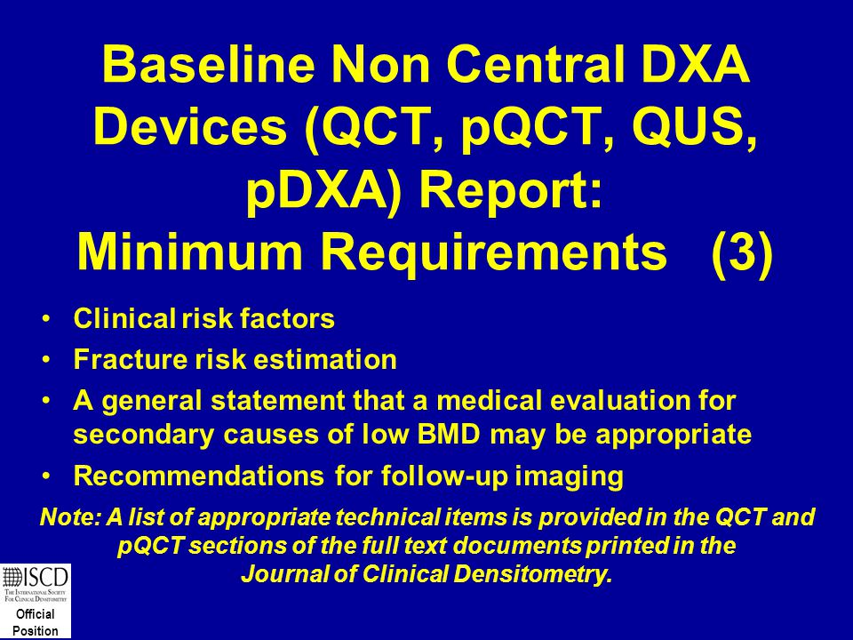 Journal of Clinical Densitometry.