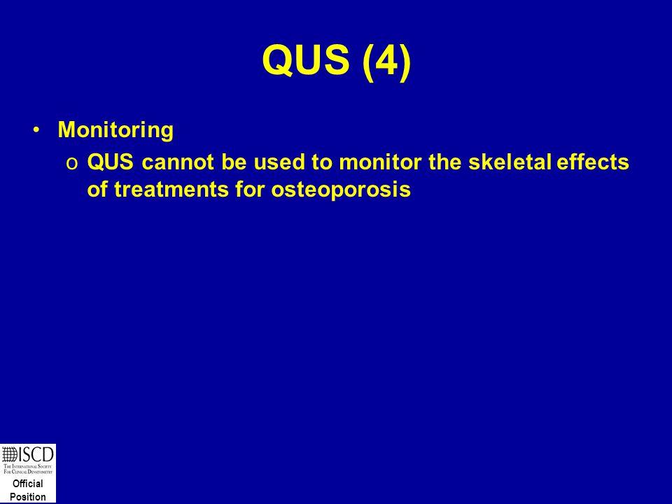 QUS (4) Monitoring.