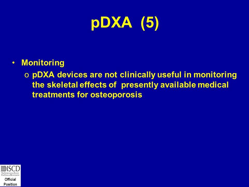 pDXA (5) Monitoring.