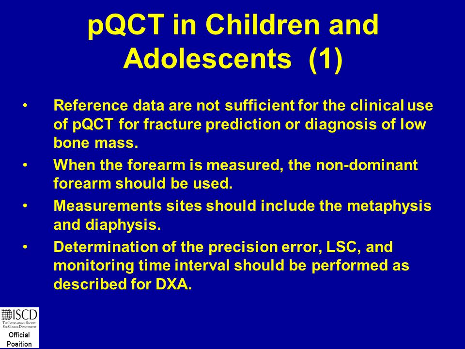 pQCT in Children and Adolescents (1)