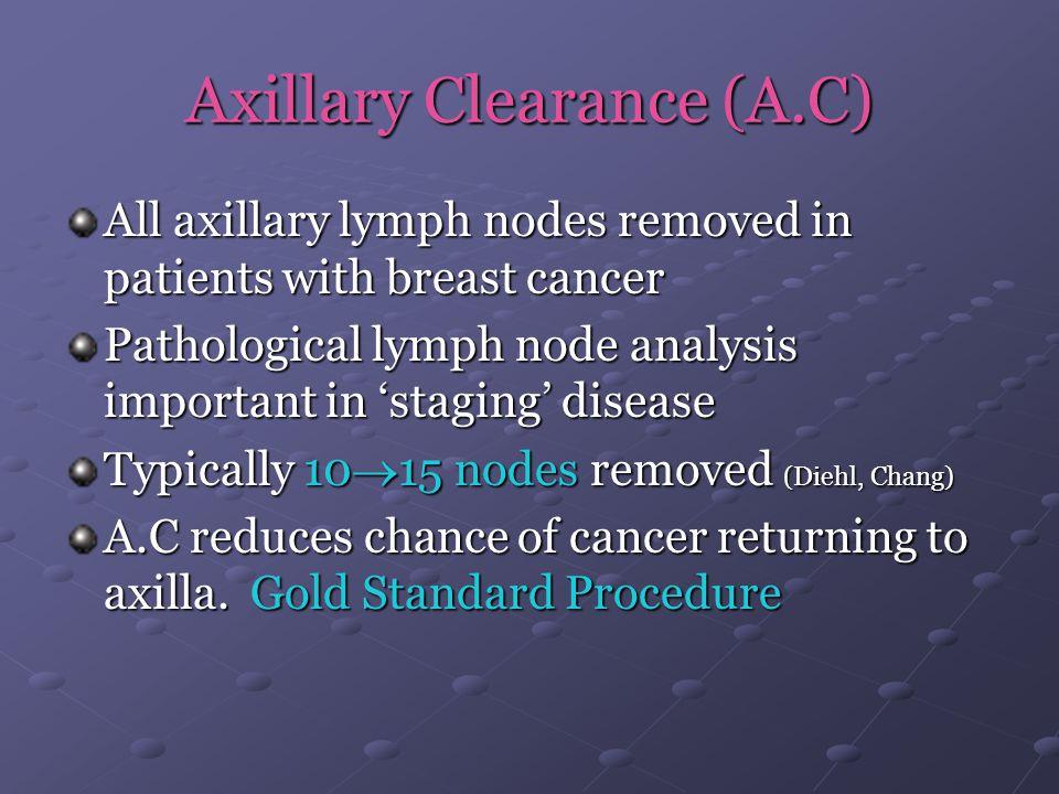 Axillary Clearance (A.C)