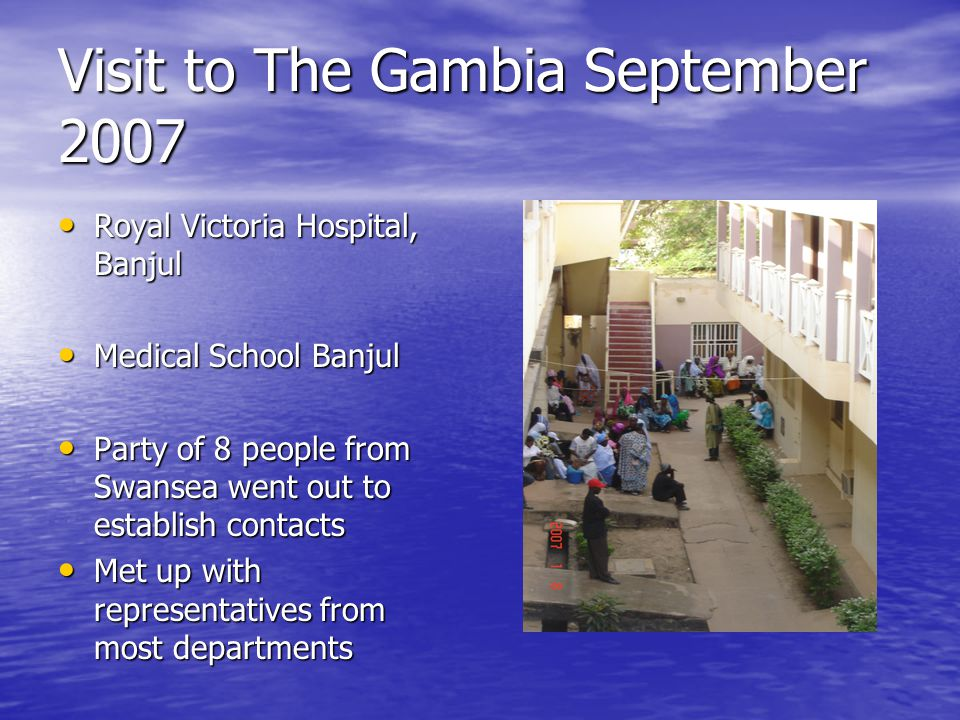Visit to The Gambia September 2007
