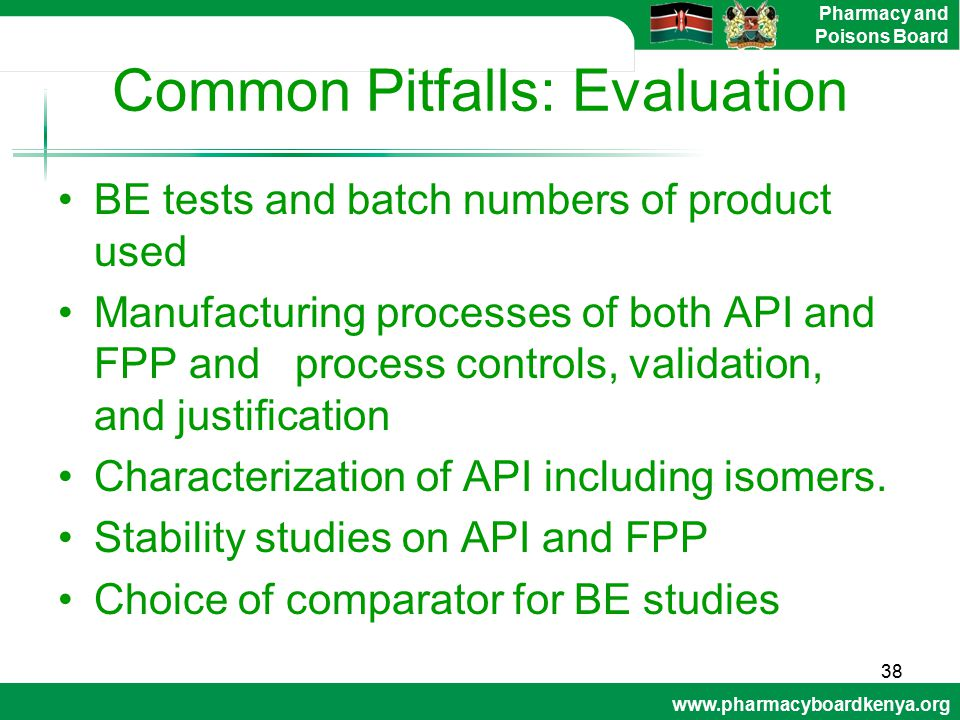 Common Pitfalls: Evaluation