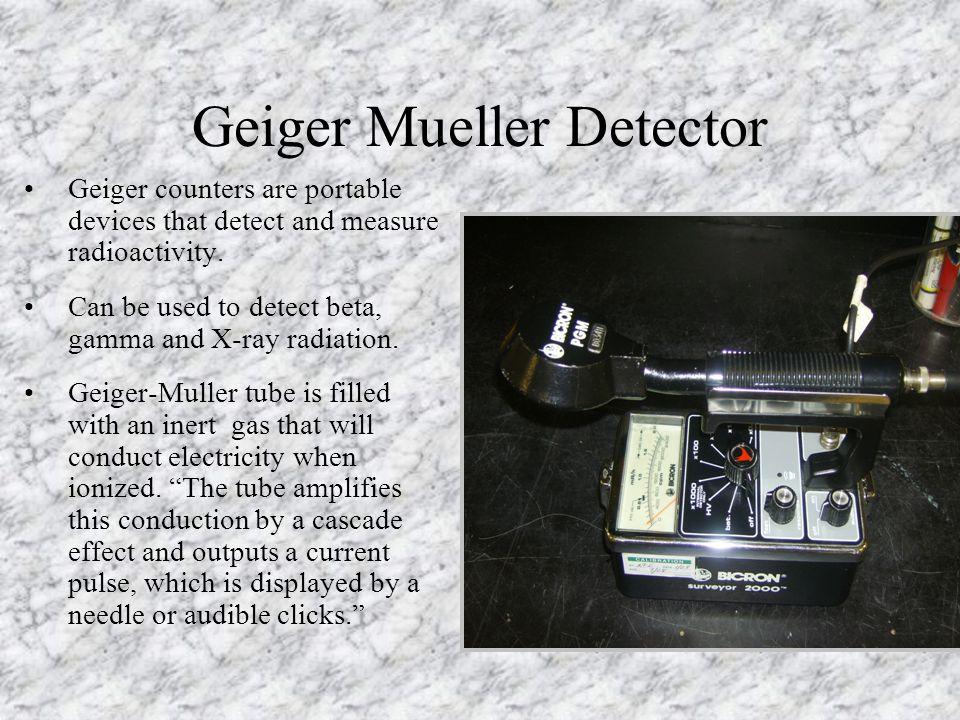 Geiger Mueller Detector