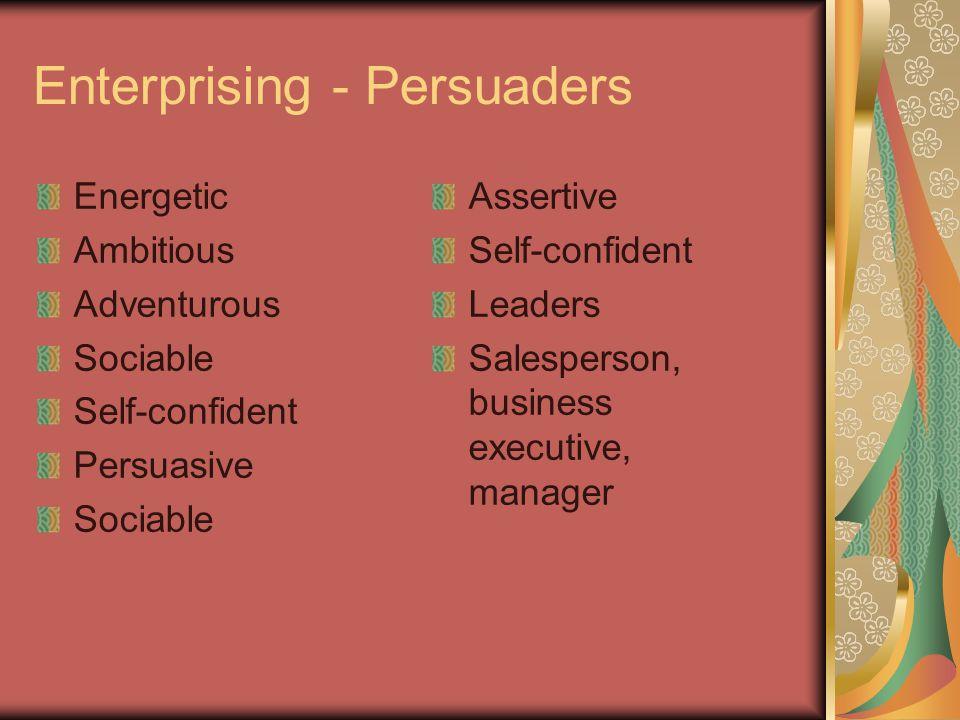 Enterprising - Persuaders