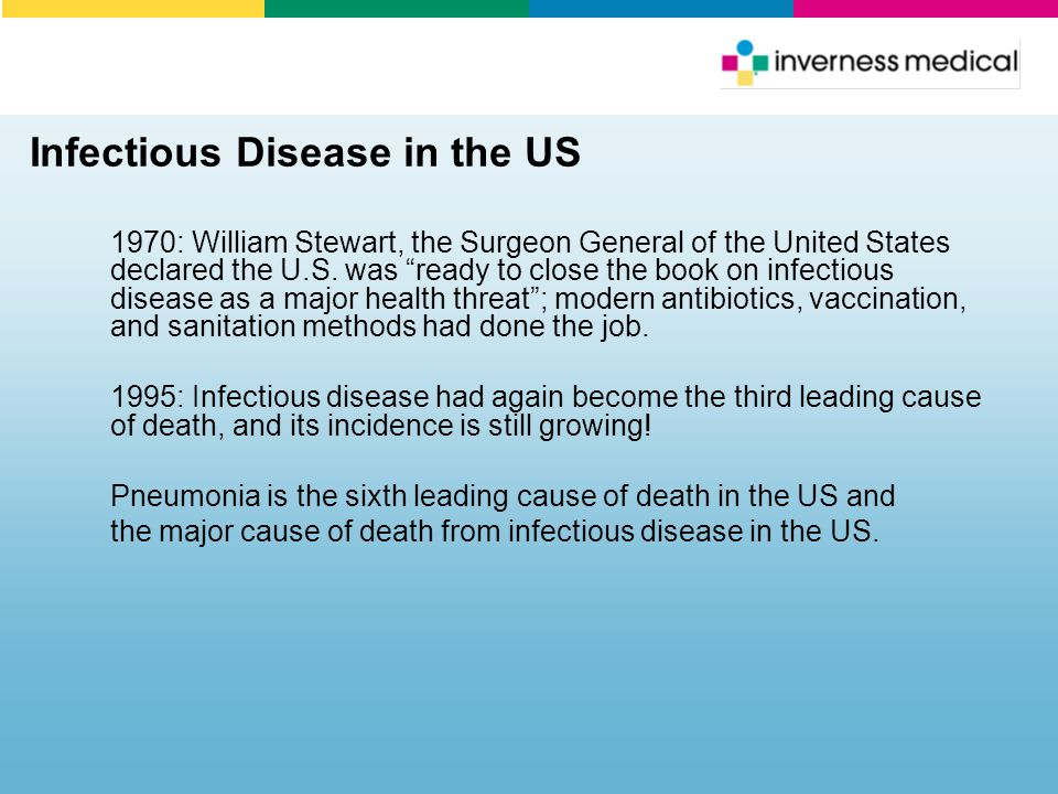 Infectious Disease in the US