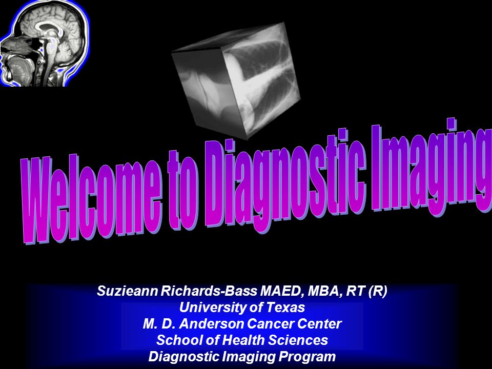 Welcome to Diagnostic Imaging