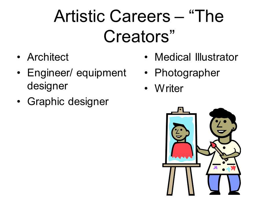 Artistic Careers – The Creators
