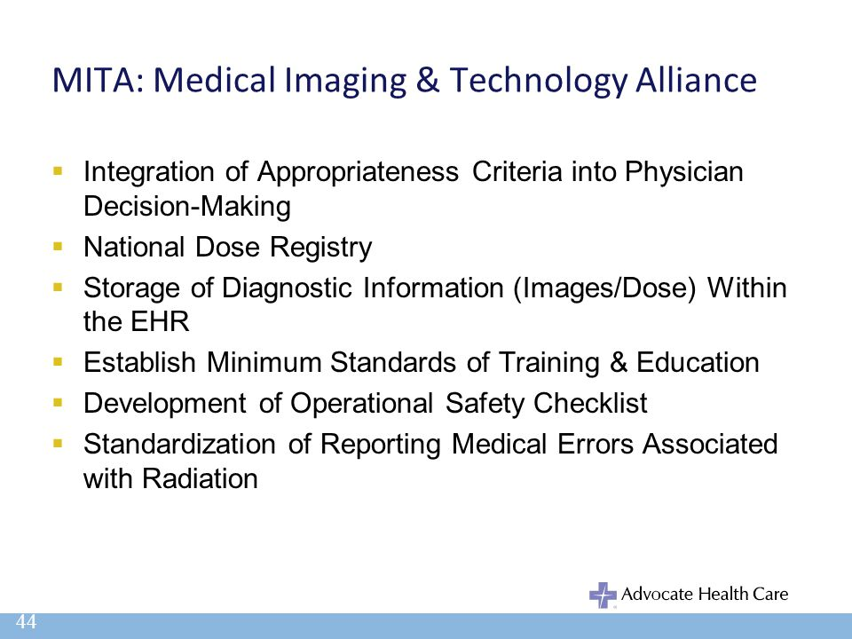 MITA: Medical Imaging & Technology Alliance