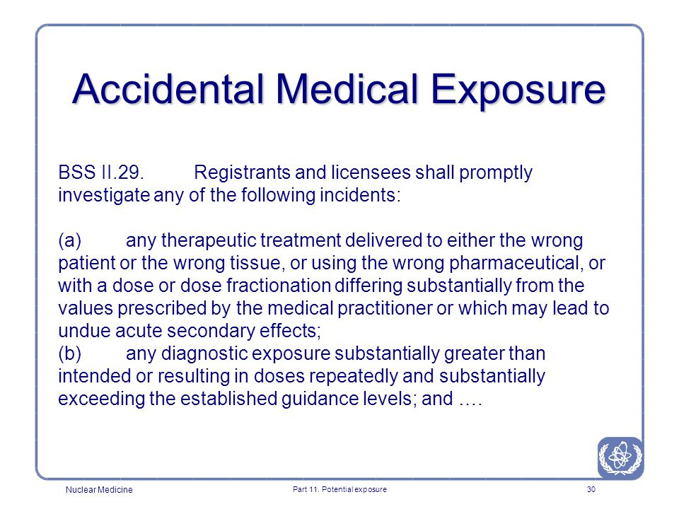 Accidental Medical Exposure