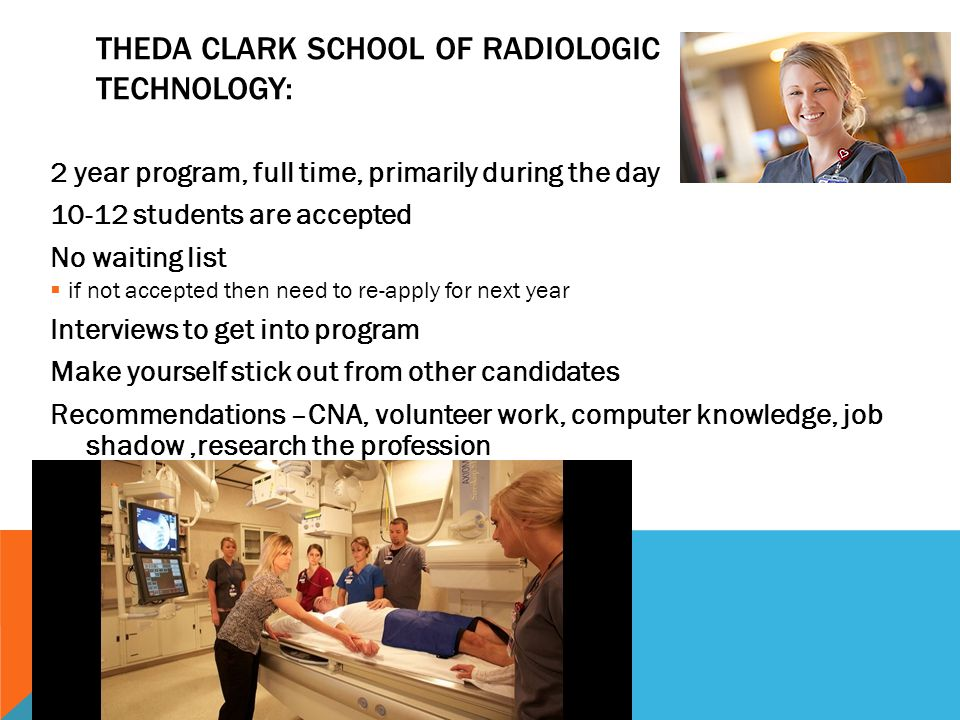 Theda Clark School of Radiologic Technology: