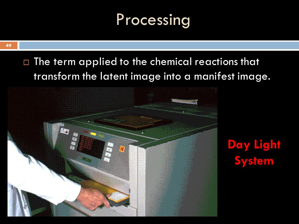 Processing Day Light System